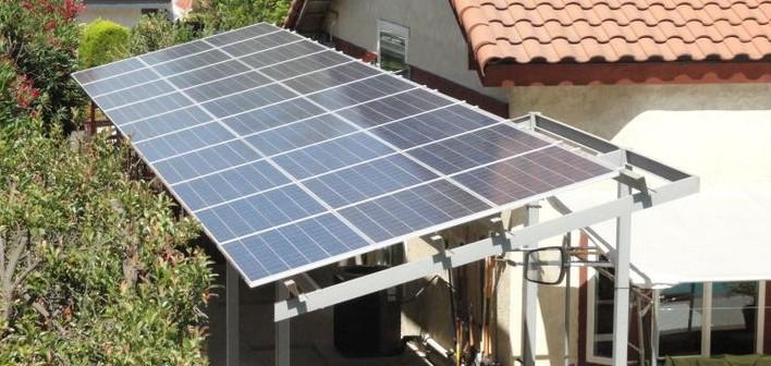 solar rig